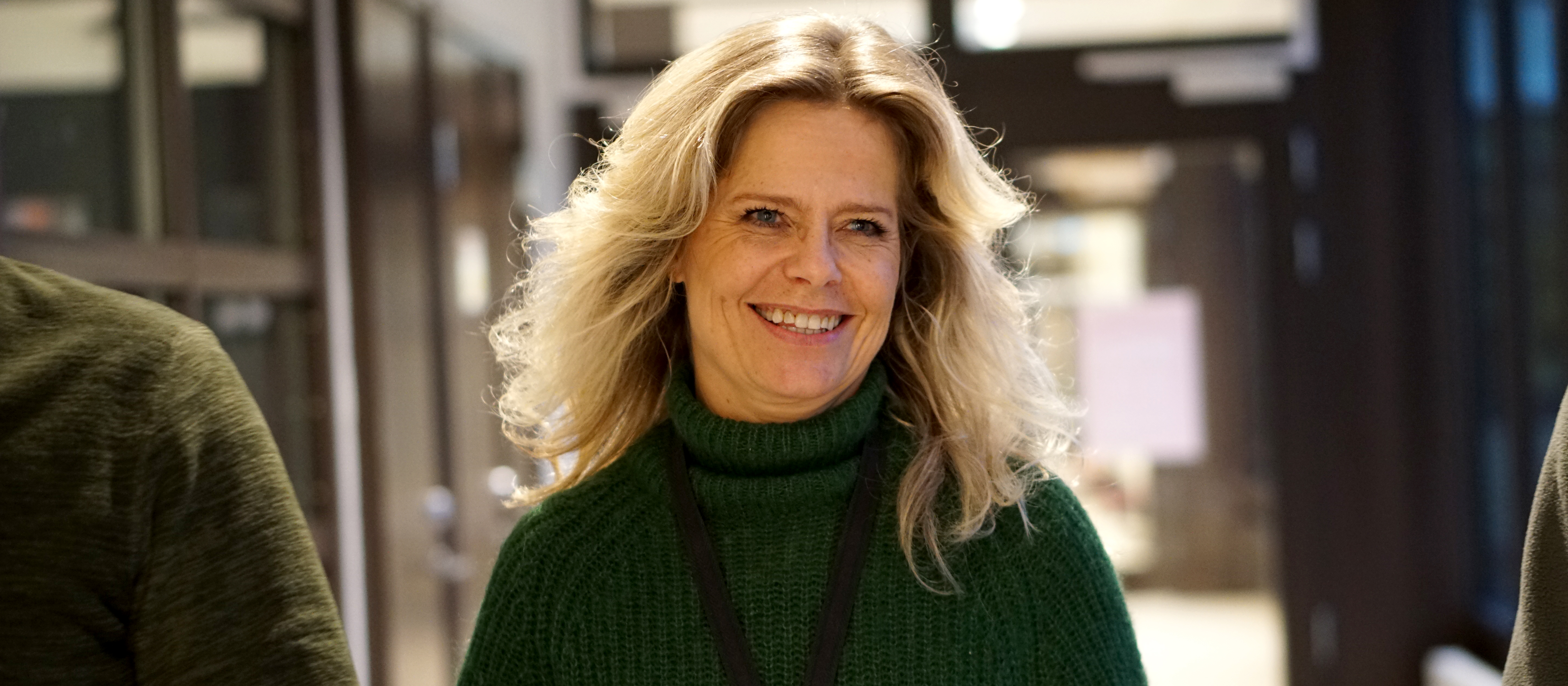Bild på Åsa Ahlbäck Barker lärare i bild