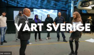 Se filmen Vårt Sverige - unga pratar om vad fred är i Sverige med Morgan Johansson