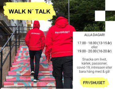 Walk n' Talk med Fryshuset