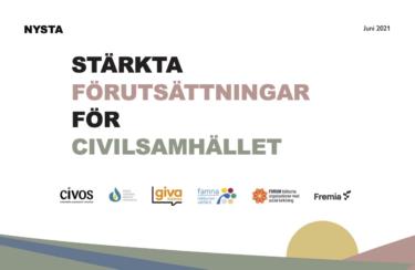 """Ny rapport: """"Stärkta förutsättningar för civilsamhället"""""""