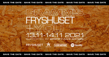 Grammis-Fryshuset+YOU - Save the date 13.11-14.11