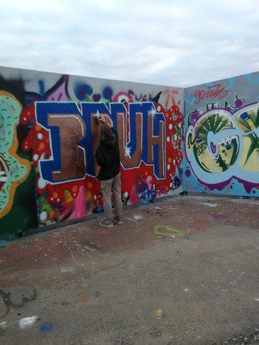 Fryshuset Helsingborg skapar sammanhållning genom graffiti