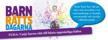 Fryshusets demokratiprojekt VÄND OSS INTE RYGGEN deltar på Barnrättsdagarna 2021